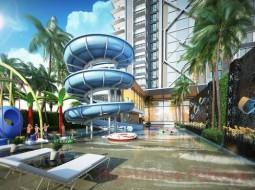 1 เตียง คอนโด สำหรับขาย ใน พระตำหนัก - Diamond Towers