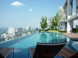 2 เตียง คอนโด สำหรับเช่า ใน พัทยากลาง - Centric Sea