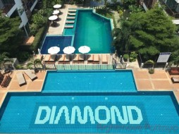 2 เตียง คอนโด สำหรับขาย ใน พระตำหนัก - Diamond Suites